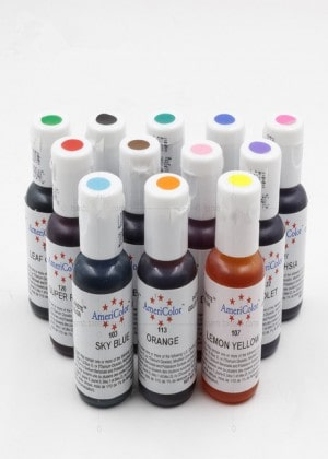 Ameri Color Food Color Paste For Cake Decoration