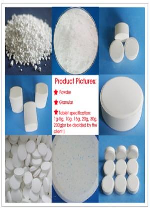 TCCA Trichloroisocyanuric Acid